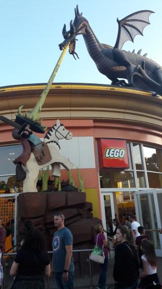 A incrível loja Lego